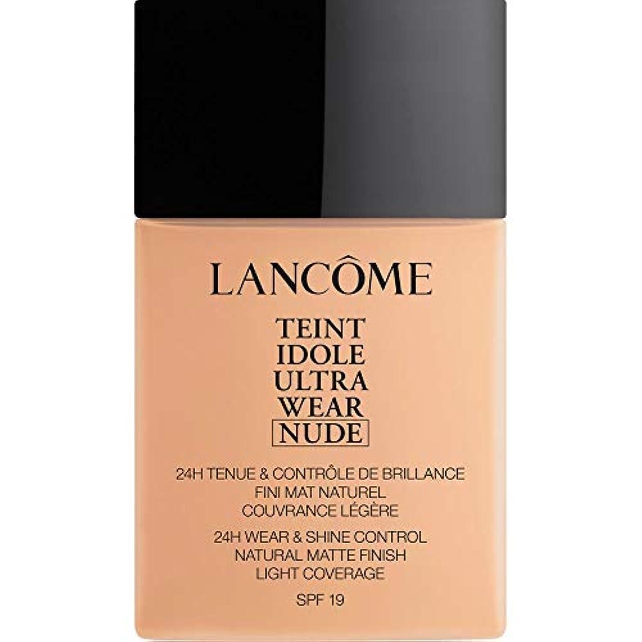 ブレーキ試してみるを通して[Lanc?me ] ランコムTeintのIdole超摩耗ヌード財団Spf19の40ミリリットル023 - ベージュオロール - Lancome Teint Idole Ultra Wear Nude Foundation...