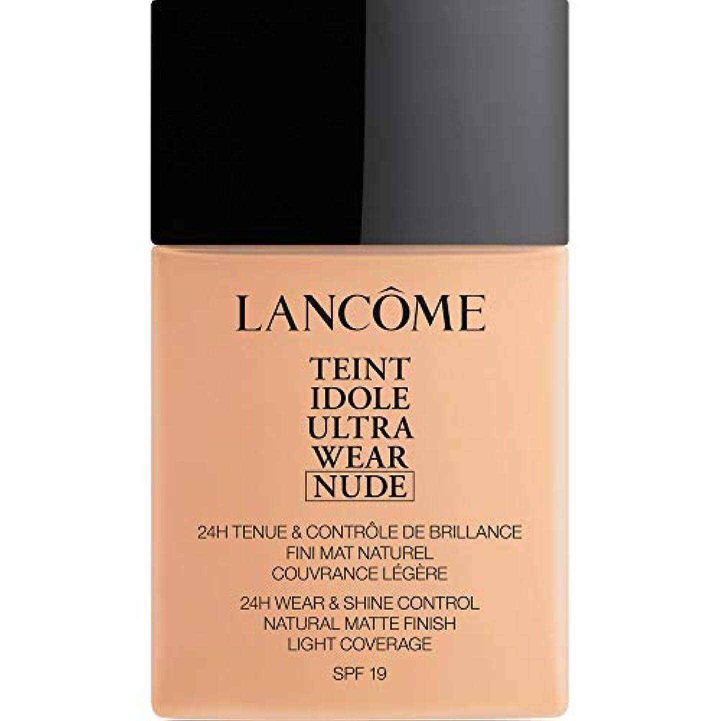 辞書シュリンクモック[Lanc?me ] ランコムTeintのIdole超摩耗ヌード財団Spf19の40ミリリットル023 - ベージュオロール - Lancome Teint Idole Ultra Wear Nude Foundation...