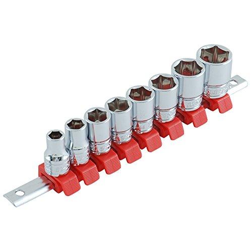 SK11 ソケットセット 差込角 9.5mm (3/8インチ) 8・10・12・13・14・15・17・19mm SHS308M