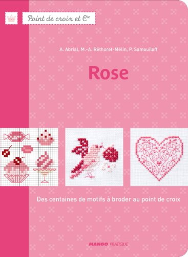 DMC 「Rose」 クロスステッチ図案集-フランス語