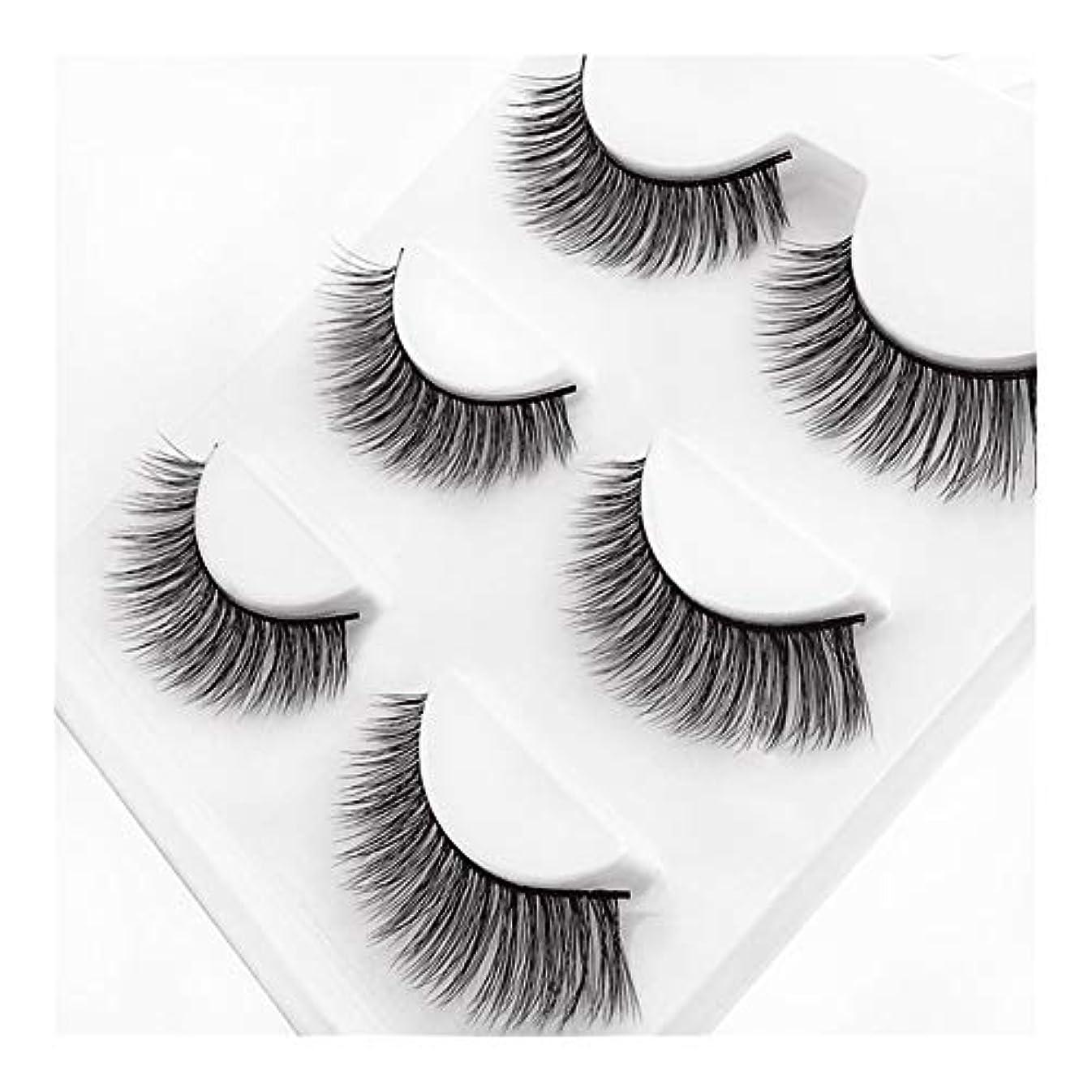 電気陽性報酬の味Lucy Day つけまつげ3Dミンク毛ナチュラルロングパンツまつげ (色 : 3D-X10)