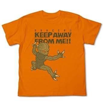 ドラゴンボール改 サイバイマンTシャツ改 オレンジ サイズ:M