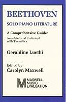 Beethoven: Solo Piano Literature