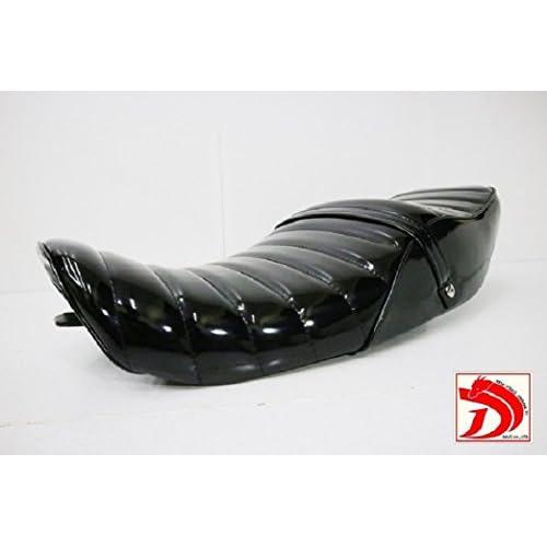 新品 ゼファー400 2型 後期用 変形 黒エナ タックロールシート