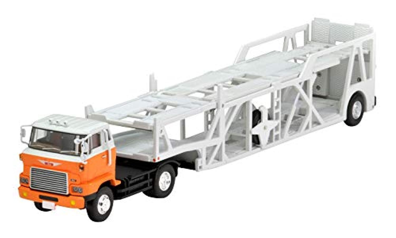 トミカリミテッドヴィンテージ ネオ 1/64 LV-N89d 日野HE 366型 カートランスポーター 白/オレンジ (メーカー初回受注限定生産) 完成品