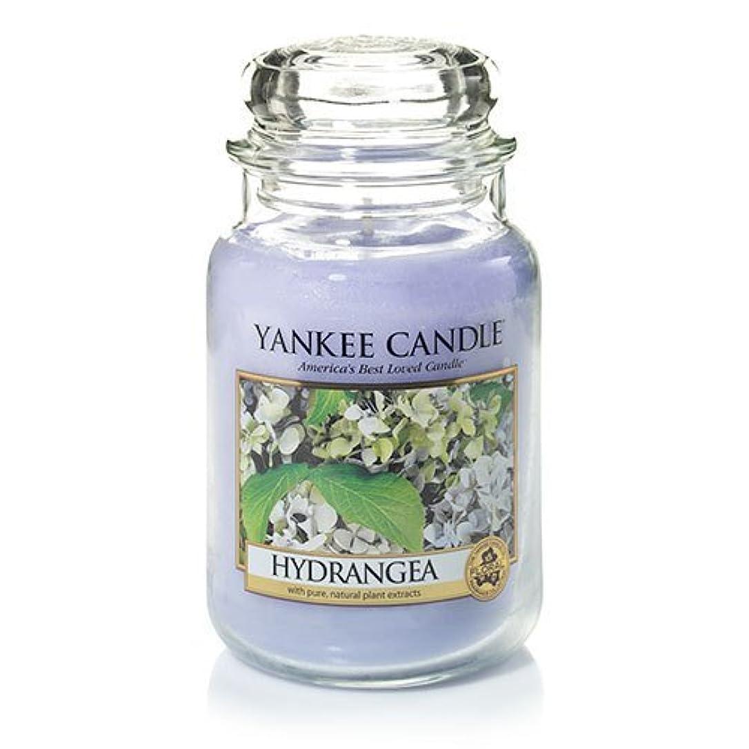 復活するうまくいけば主婦Yankee Candle Hydrangea Large Jar Candle、新鮮な香り