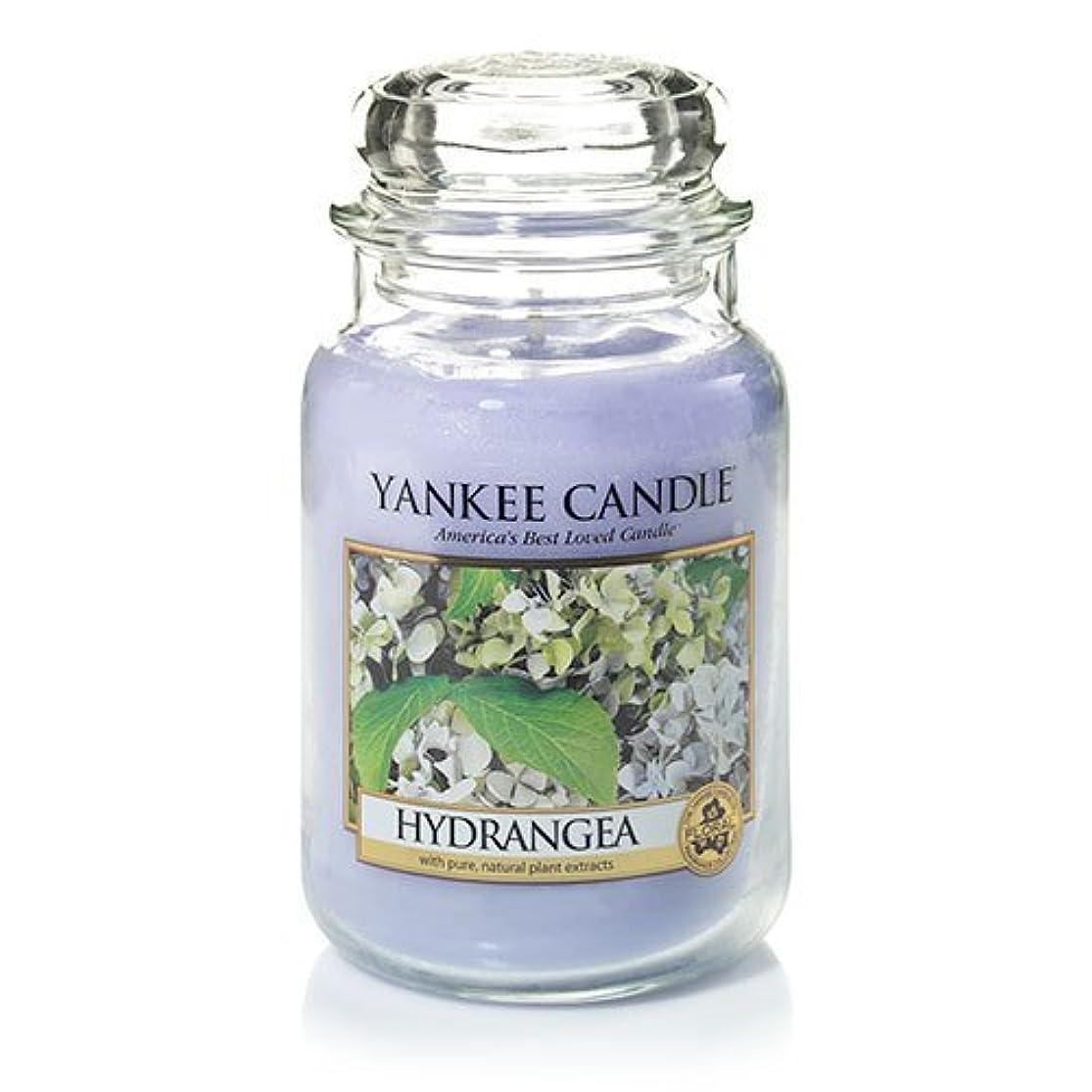松の木収益選択Yankee Candle Hydrangea Large Jar Candle、新鮮な香り