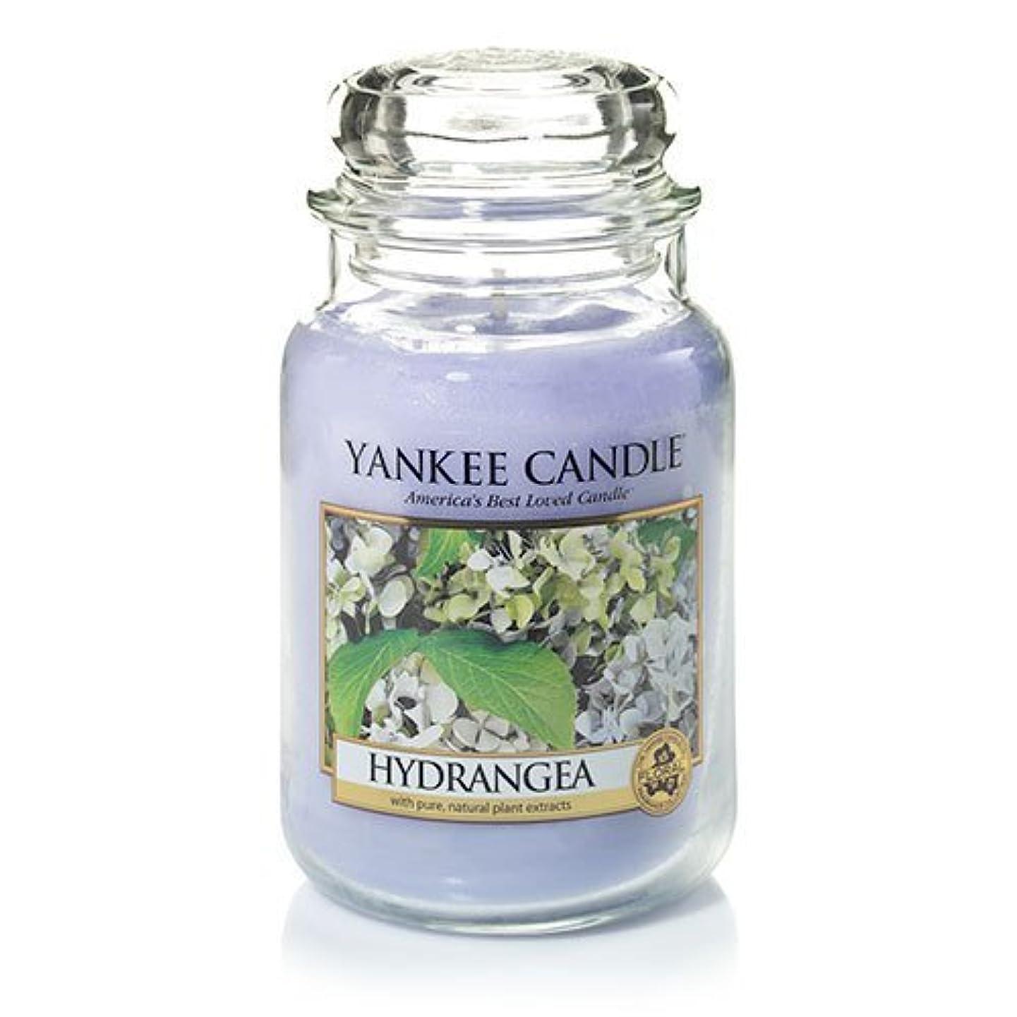 啓発する誓うカテゴリーYankee Candle Hydrangea Large Jar Candle、新鮮な香り