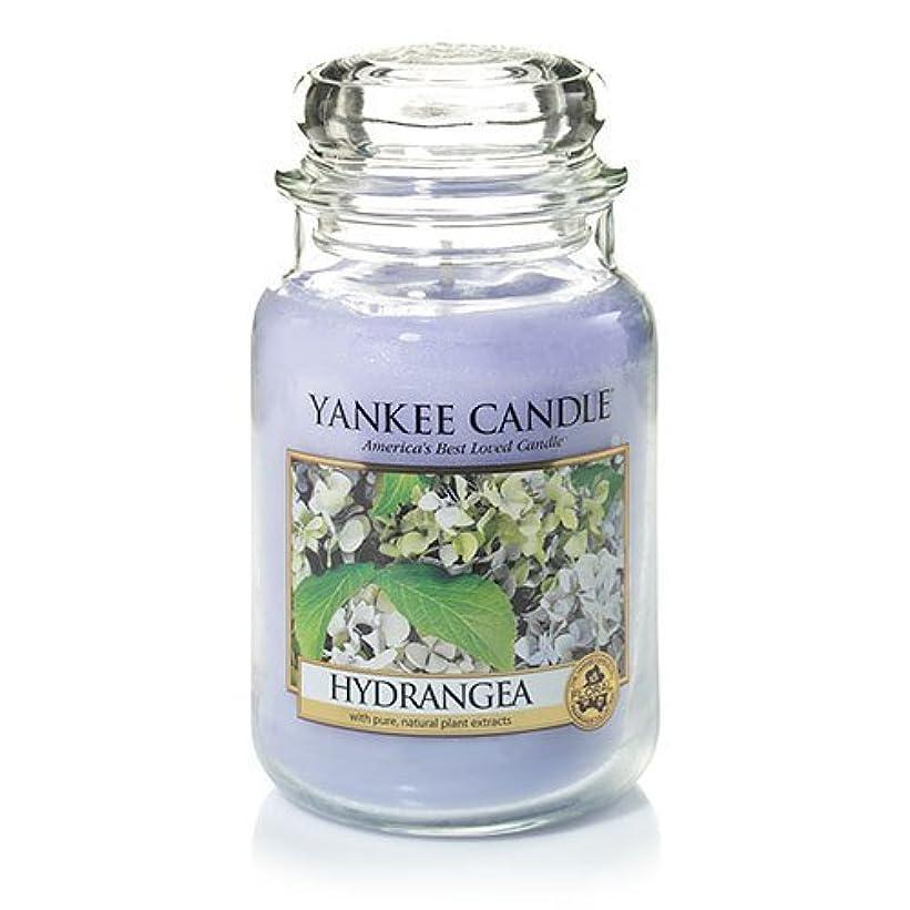 ドーム模倣ドームYankee Candle Hydrangea Large Jar Candle、新鮮な香り