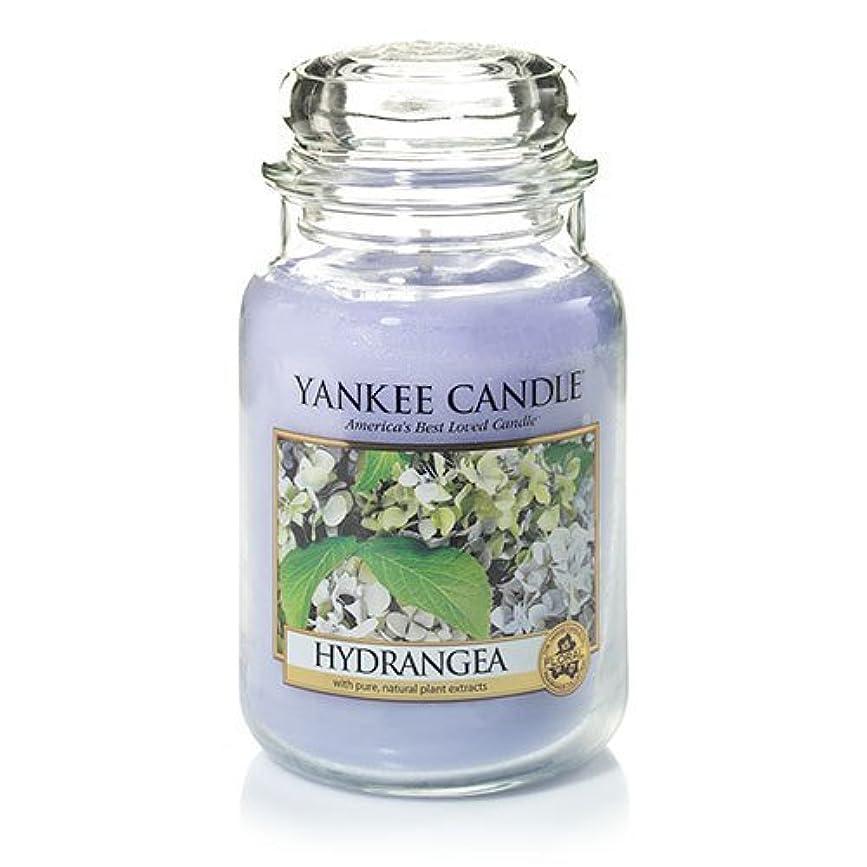 発見する金属後者Yankee Candle Hydrangea Large Jar Candle、新鮮な香り