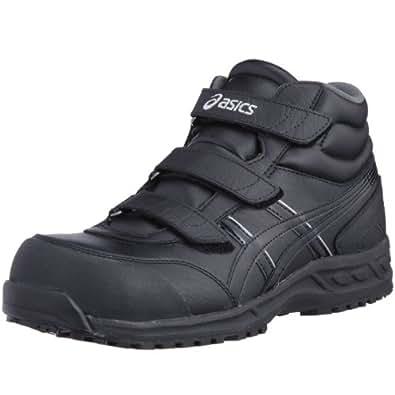 (アシックス)ASICS 安全靴ウィンジョブ53S FIS53S JP 24.0(24cm) ブラック/ブラック