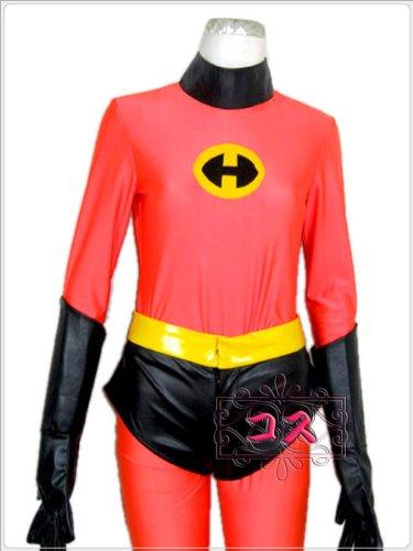『【JAPAN COSPLAY】ディズニー Mr.インクレディブル風コスプレ衣装/コスチューム(L/女性用)』の1枚目の画像