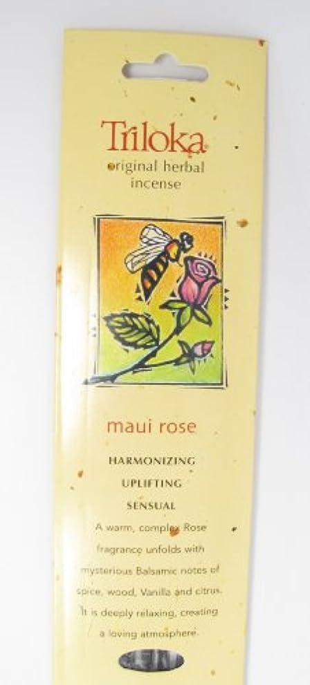 敬意を表するカカドゥ世界的にTriloka - 元の草の香マウイローズ - 10棒