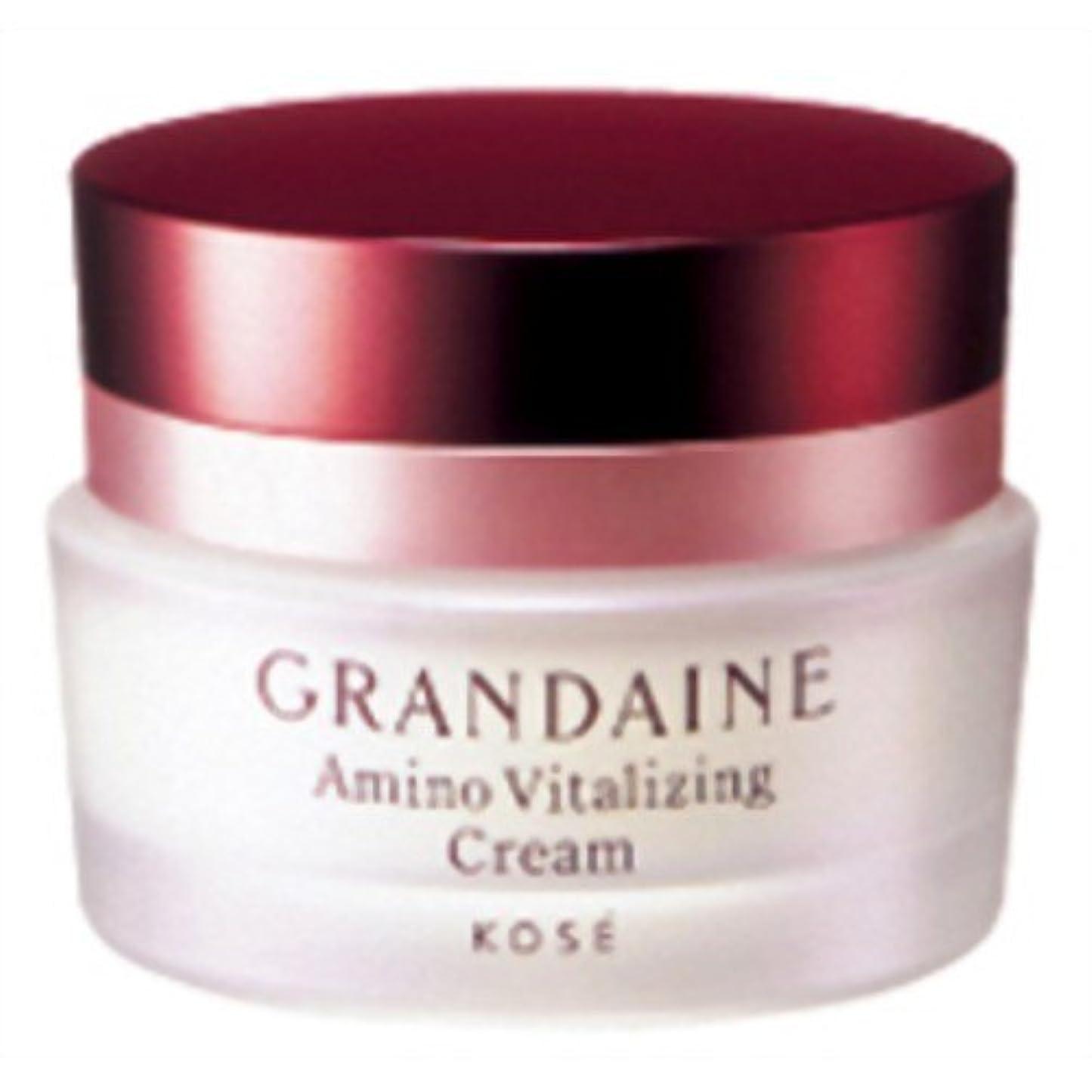 不規則性ばかげている分散コーセー グランデーヌ アミノ バイタライジングクリーム 40g