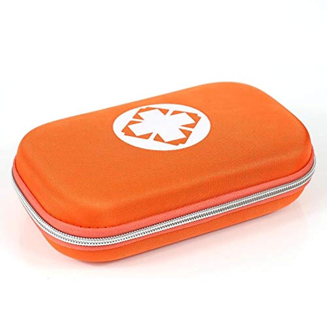 残り物敬意を表するハブXKJPShop 救急箱 旅行薬箱応急処置キットポーチボックス、医療収納袋ポータブル医療パッケージ緊急医療キットサバイバル医療薬ポケット 応急処置ケース、家庭、職場、学校 (Color : Orange)