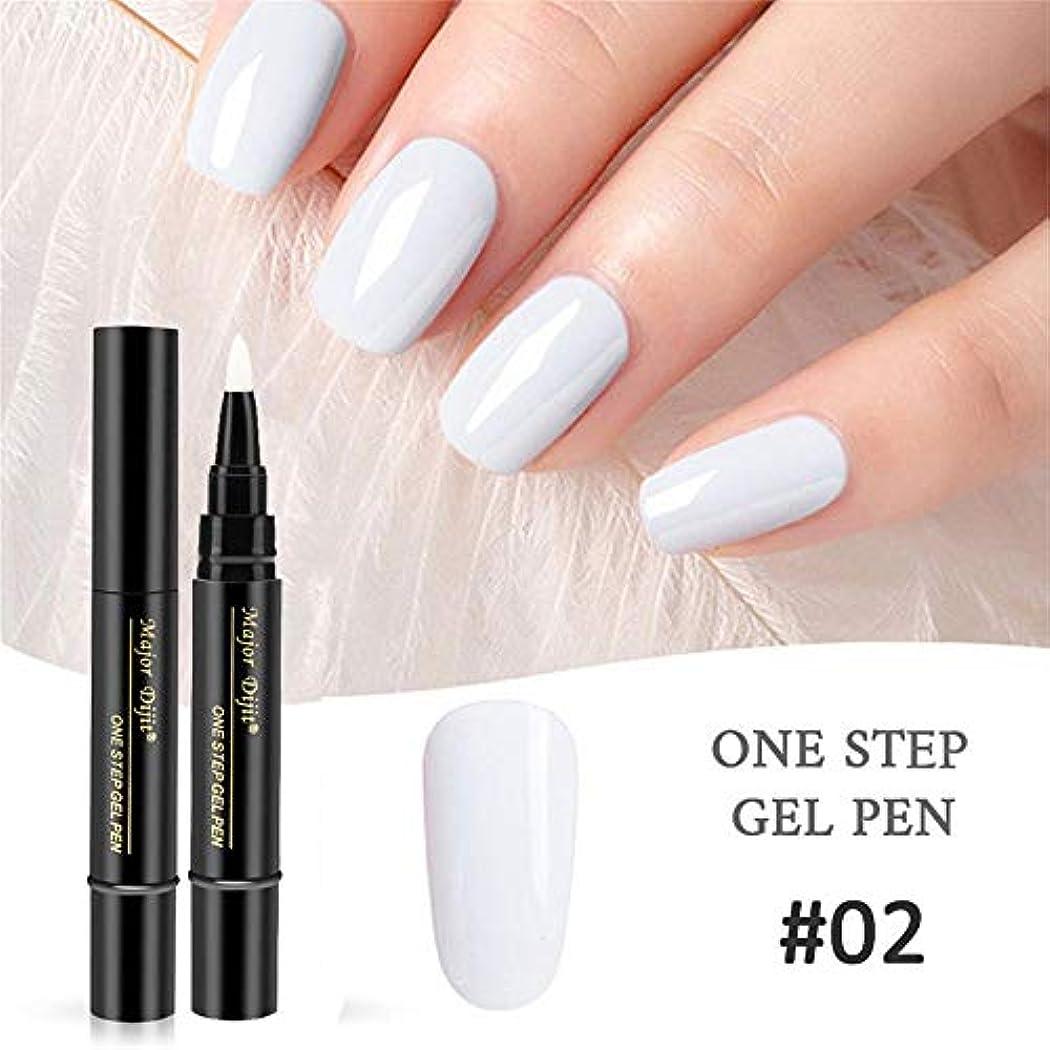拳フレット正確にMimoonkaka ネイルカラー ネイルジェル ペイント ワニスペン ステップ ネイル UV ジェルを使用する 完璧 簡単 1セット3PC