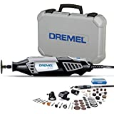 Dremel 4000 Rotary Tool 175W Multi Tool Kit (4 Attachments, 50 Accessories, Variable Speed 5,00035,000 RPM for Cutting, Carving, Sanding, Drilling, Polishing, Routing, Sharpening, Grinding)