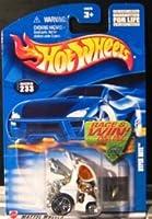 Hot Wheels (ホットウィール) 2002 Hyper Mite 233 WHITE Hypermite ミニカー ダイキャスト 車 自動車 ミニチュア 模型 (並行輸入)