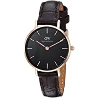 Daniel Wellington Women's Watch Classic Petite York  Black 28mm