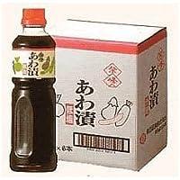 柴沼醤油醸造 紫峰 あわ漬 1L×6本セット