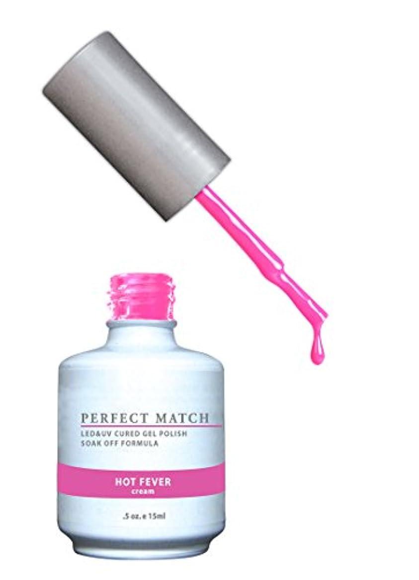 滑りやすい覚醒ボトルLeChat LECHATパーフェクトマッチマニキュア、 0.500オンス 温熱