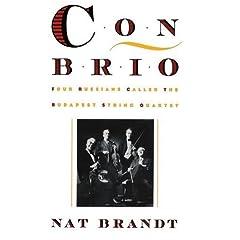 ナット・ブラント著のブダペスト弦楽四重奏団の伝記『Con Brio』の小品写真