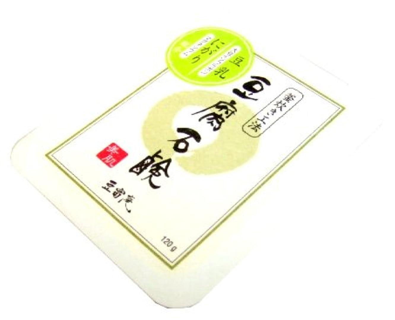侵入不健康革命的コジット 豆腐石鹸