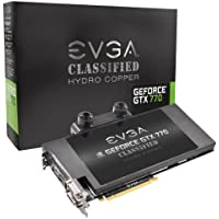 EVGA GeForce GTX 770 4 GB 4096 MB 1 GB gddr5 256ビットDisplayPort HDMI DI / d-d Classified Hydro銅グラフィックスカード04 g-p4 – 3779-kr