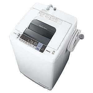 日立 7.0kg 全自動洗濯機 ピュアホワイトHITACHI 白い約束 NW-7WY-W
