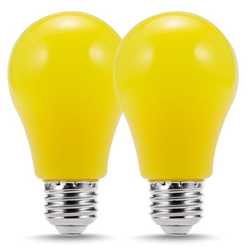 Luohaoshi 円形LED装飾照明電球 カラー電球クリア...