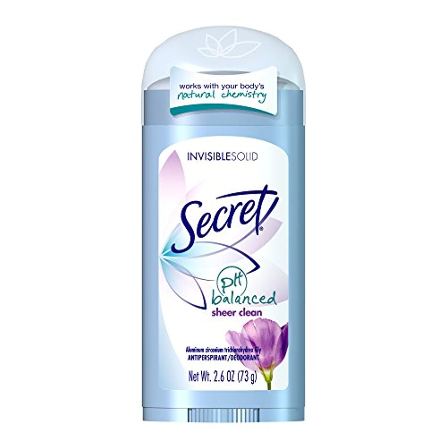 ハーブ伝統的ギネスSecret Original Strength Antiperspirant and Deodorant Invisible Solid, Sheer Clean, 2.6 Oz (並行輸入品)