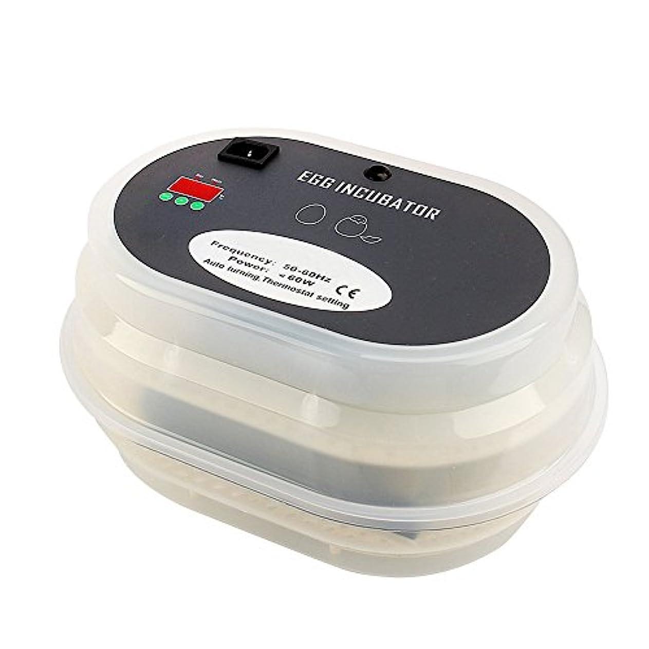 ジャグリングこんにちはもう一度BUYSEEY mini 小型 孵卵器 ふ卵器 孵化器 PSE認証 インキュベーター全自動 実験用 学校用 教学用 家庭用
