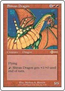 英語版 ビートダウン Beatdown BTD シヴ山のドラゴン Shivan Dragon マジック・ザ・ギャザリング mtg
