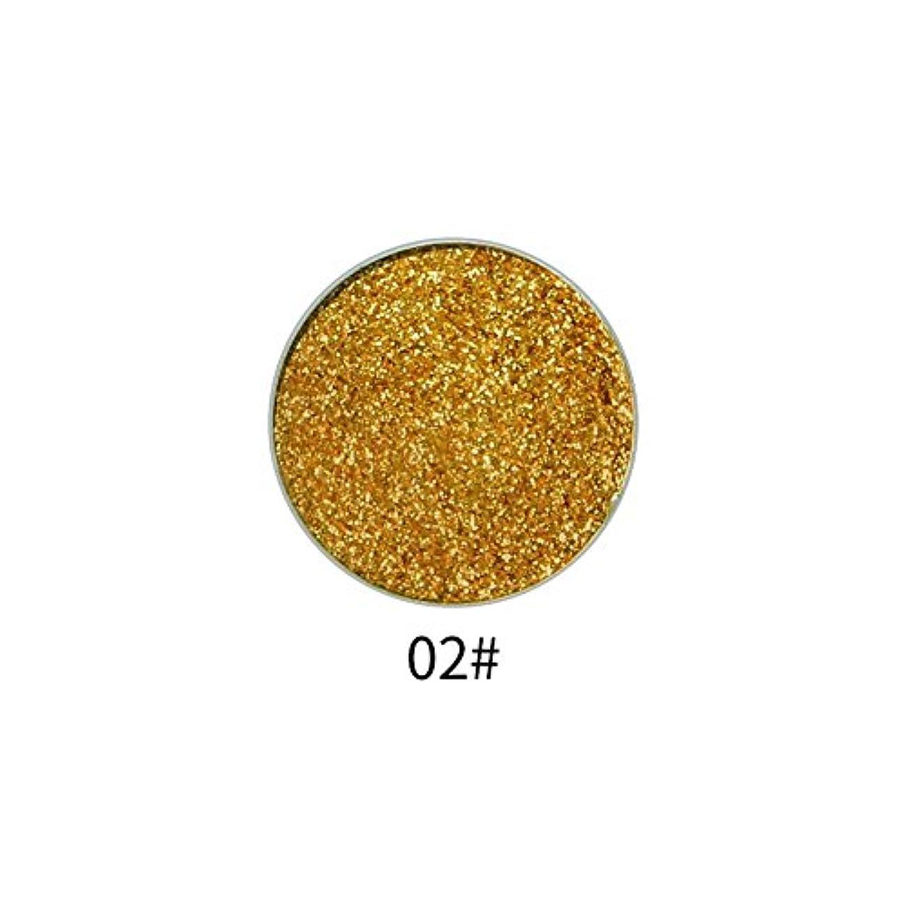 目的お金目的9色アイシャドウパレット顔料シャイニングパウダーマットグリッターアイシャドウパウダー(2)