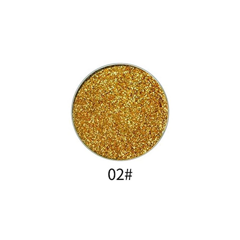 プラスチック添加悲観主義者9色アイシャドウパレット顔料シャイニングパウダーマットグリッターアイシャドウパウダー(2)