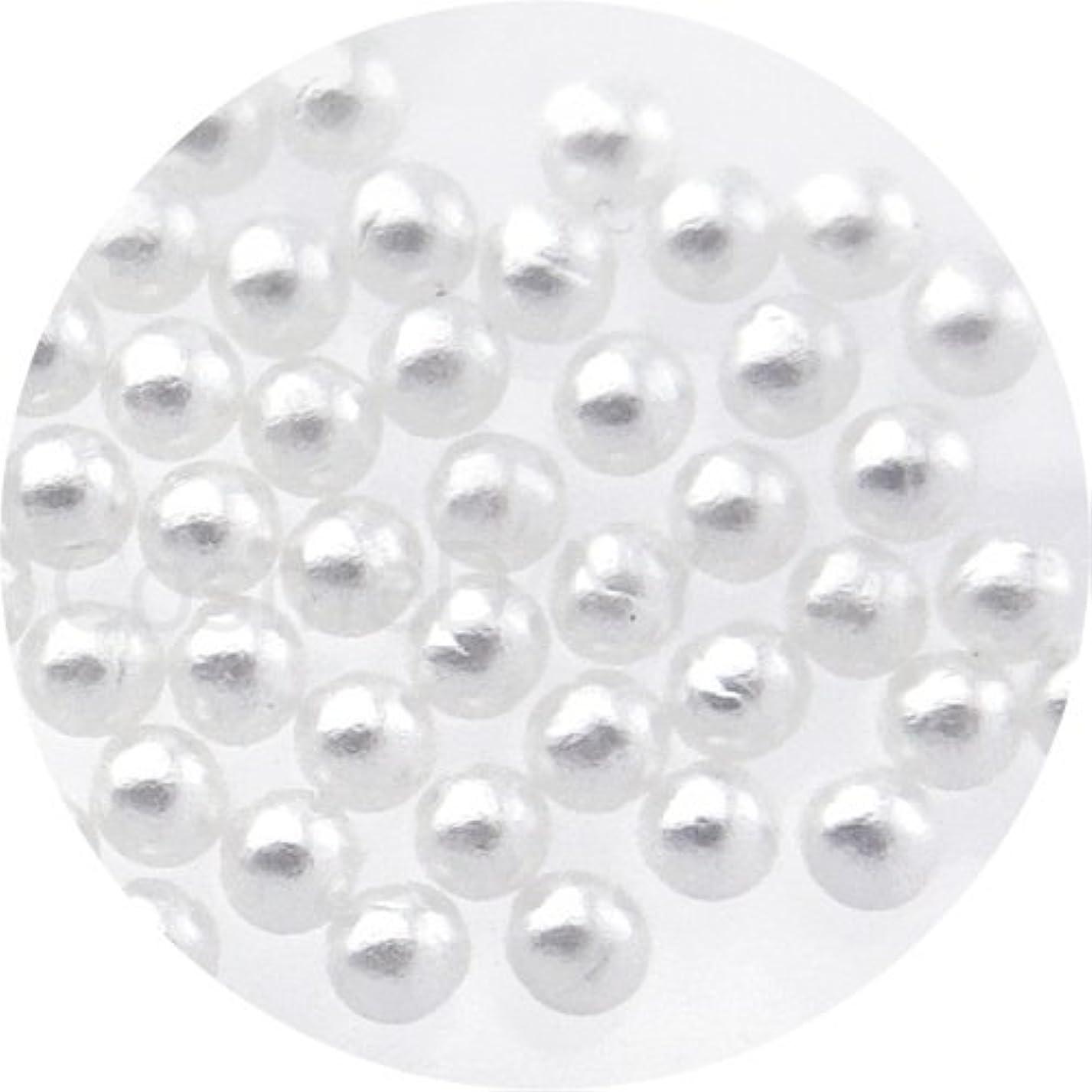 モルヒネマーク機密nailgarden パールストーン球 2.0mm ホワイト