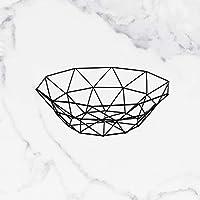 PLL ノルディッククリエイティブホームシンプルな鍛造鉄フルーツバスケットリビングルームフルーツプレートホームクリエイティブストレージバスケットフルーツボウル