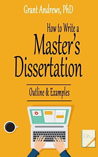amazon co jp how to write a master s dissertation outline and
