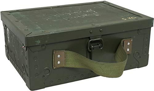 スウェーデン軍 アンモボックス ウッド S USED