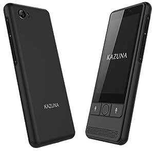 TAKUMI JAPAN KAZUNA eTalk 5 自動翻訳機 72言語翻訳可能 Wi-Fiテザリング搭載 ブラック