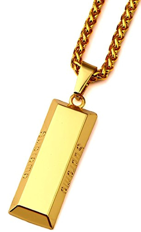 goldenchenヒップホップ合金正方形ブロック刻印