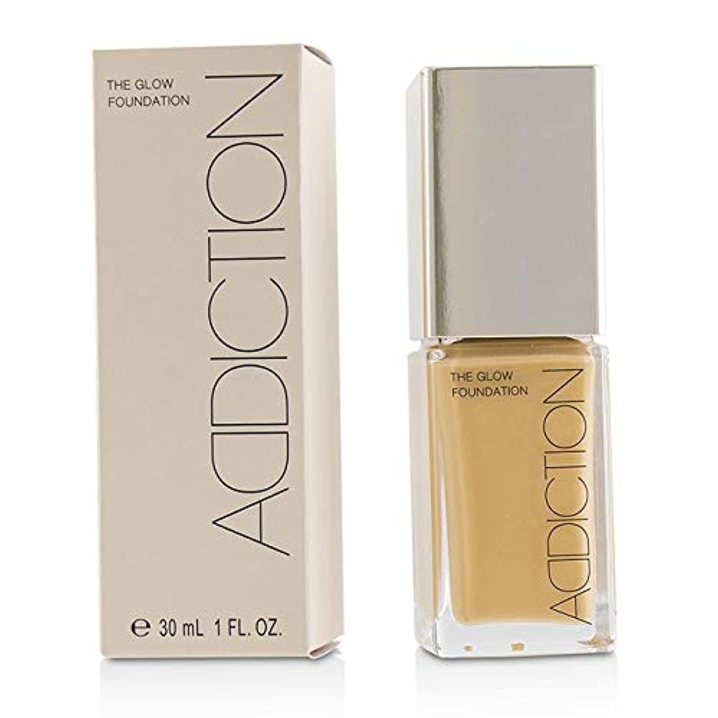 実験をする日常的に試用ADDICTION The Glow Foundation SPF 20 - # 013 (Golden Sand) 30ml/1oz並行輸入品
