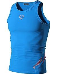 (ジーンズイアン)Jeansian 男性用 ファッショ メンズ Tシャツ タンクトップ ノースリーブ 速乾性 LSL3306