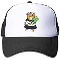 ユニホーム秋田犬 素敵 かわいい おもしろい ファッション 派手 メッシュキャップ 子ども ハット 耐久性 帽子 通学 スポーツ