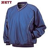 ゼット(ZETT) 長袖Vネックジャンパー BO250 2300 ブルー L-O
