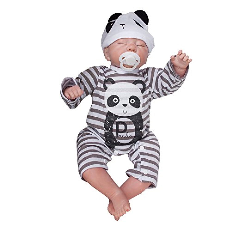 Lovelybaby 50cm  子供 おもちゃ ベビー ケア ドールハウス用品  トレーニング   ドール  シミュレーション  ソフト  キュート  可愛い   シリカゲル   手作る   新生児   人形   リボーンベビードール   ラブリーベビードール     ビニールキッズドール