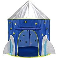 B Blesiya 2カラー選ぶ 家装飾 寝具 キッズテント 子ども 遊びテント 遊び場 おもちゃ ポップアップテント - ブルー