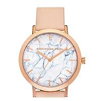 【クリスチャンポール】christianpaul 腕時計 MARBLE 43MM ユニセックス 本革 マーブル (BONDI) [並行輸入品]