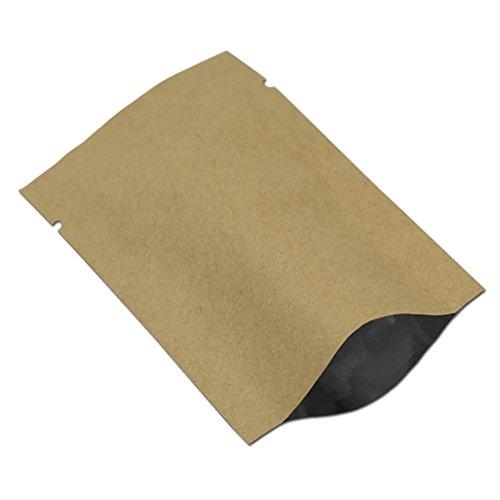 食物熱シールパック 包装袋 ヒートシール可能 包装袋 ノッチ...