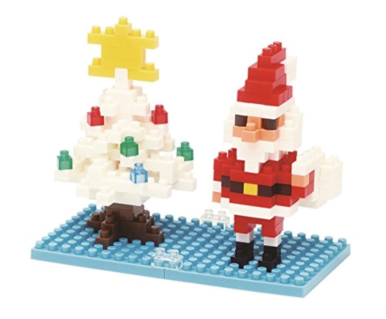 ナノブロック サンタクロース&クリスマスツリー 2013 NBC-099
